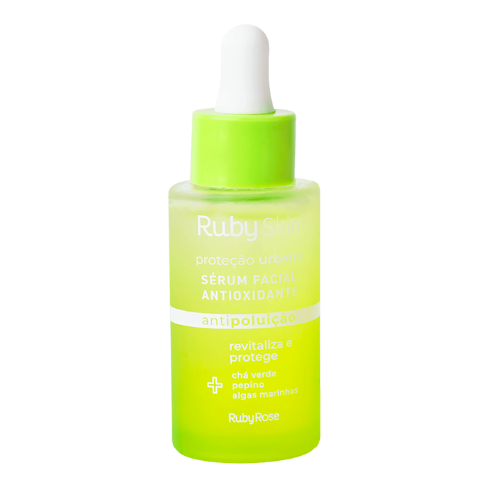 Sérum Facial Antioxidante Proteção Urbana Ruby Skin - Ruby Rose
