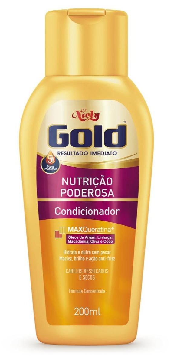 Condicionador Nutrição Poderosa Niely Gold