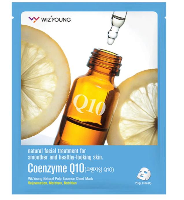 Máscara Facial Sisi Cosméticos - Wizyoung Coenzyme Q10 Collagen