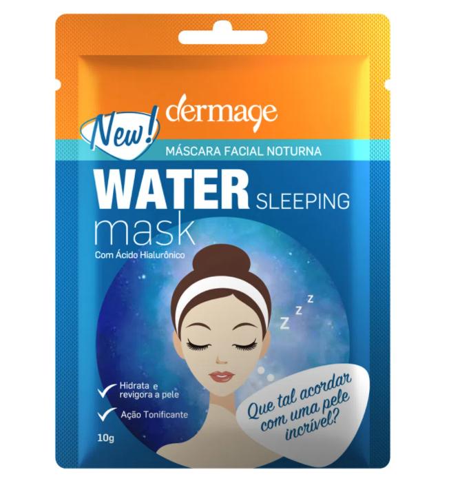 Máscara Facial Noturna Water Sleeping Dermage