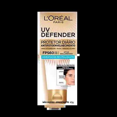 L'oréal Paris Uv Defender Hidratação Revitalizante Fps60