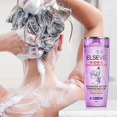 Shampoo Preenchedor Elseve Hidra Hialurônico