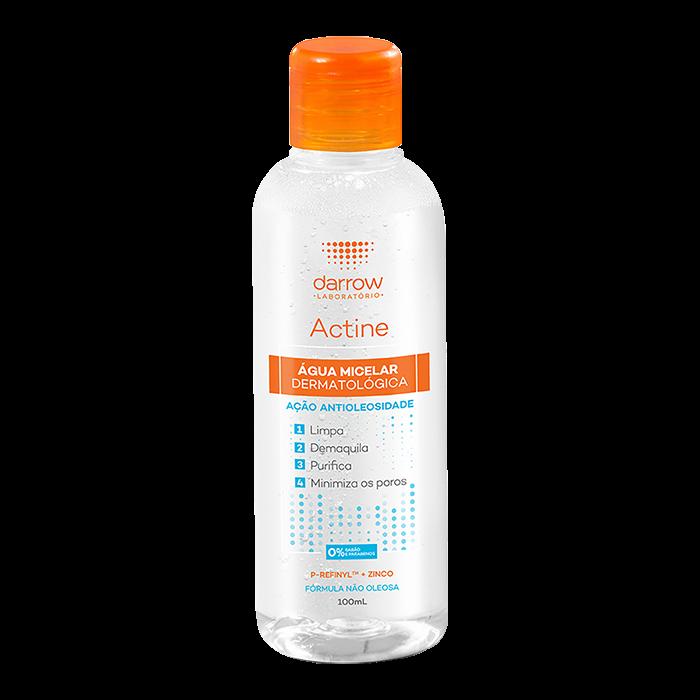 Actine Água Micelar Dermatológica