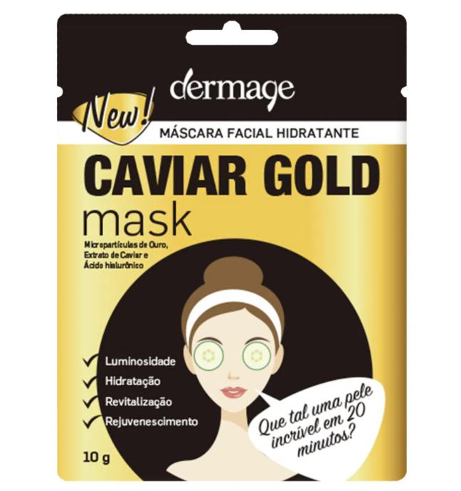 Máscara Facial Hidratante Caviar Gold Dermage