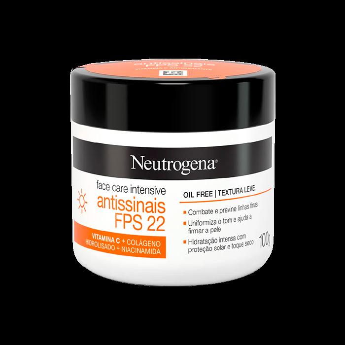 Creme Facial Neutrogena Face Care Intensive Antissinais Fps22